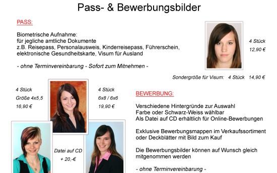 Pass & Bewerbung